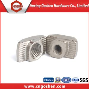 Profil en aluminium T les écrous en acier au carbone de l'écrou T/ l'écrou de la tête de marteau
