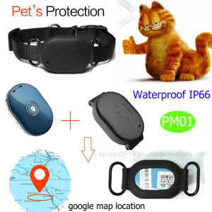 Dog/Cat Anti-Lost Impermeável Rastreador GPS Device com Security-Fence PM01