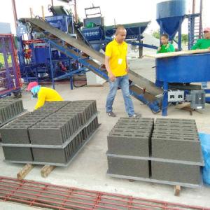 Автоматическая6-15 Qt Найджелом Пэйвером здание из кирпича/ машина для формовки бетонных блоков цена
