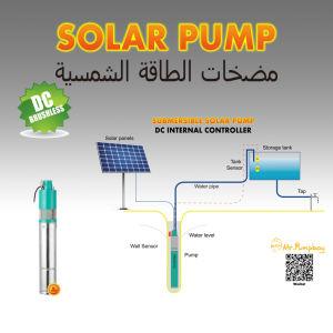 De zonne ZonnePomp van het Water Pumpboy, ZonnePompen, het Zonne Ingebouwde Controlemechanisme van de Pomp van het Water 12V 24V