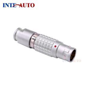 Enchufe el cable de bloqueo rápidamente Circular conector Lemo de ODU