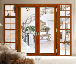 Alum nio com vidro temperado duplo porta francesa de for Puertas y ventanas usadas en rosario