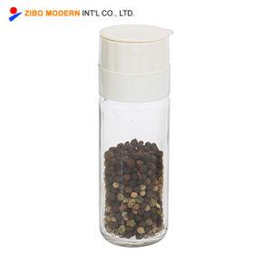 Venda por grosso de venda quente sal e pimenta Spice Moedor de plástico do vaso