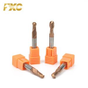 4 Flute HRC55 Cortadores de moagem com Extremidade Esférica