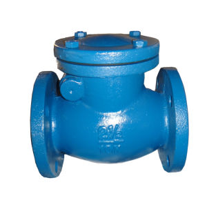 La inclinación de la válvula de retención o de giro del disco / la brida. Dn 50 - 250