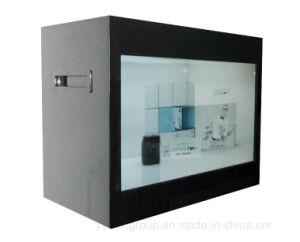 Yashi 23 pouces à écran tactile affichage publicitaire Affichage LCD transparent