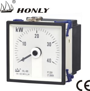 Meter van Active Power van de Enige Fase van de Hoek van de Reeks van hl de Vierkante Brede (hl-s96-GAW AC ** kW)