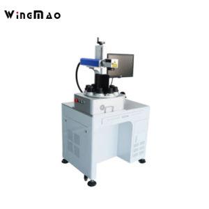 Kundenspezifische Birnen-Laser-Markierungs-Maschine 8 Positions-Dreh-LED