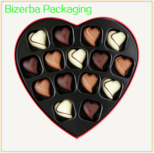 Caixa de papel de formato do coração para Candy/Chocolate/Sweet