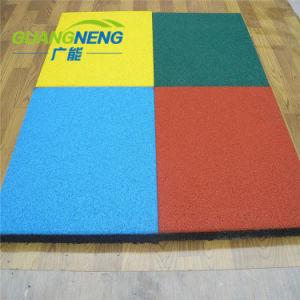 Kleurrijke dragen-Bestand RubberTegel voor Kleuterschool