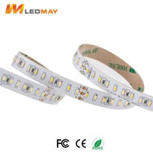 Le bande LED SMD 3014 140LEDs si raddoppiano strisce flessibili bianche del LED