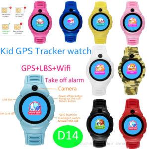 Rond GPS van de Baby van het Scherm Volgend Horloge met GPS/Lbs/WiFi D14
