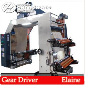 Carta pressione Papel Kraft de quatro cores Flexo máquinas de impressão