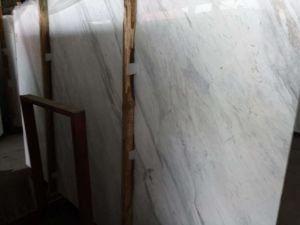 Wit Marmer Volakas voor de Tegel van de Bevloering, Trede, de Tegel van de Muur