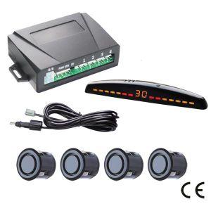 Задний радар заднего хода автомобиля при установке датчиков парковки задним ходом резервного копирования системы