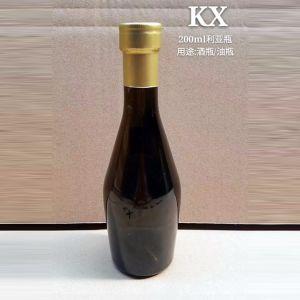 熱い販売の新しいフランスのバーガンディのワイングラスのびん