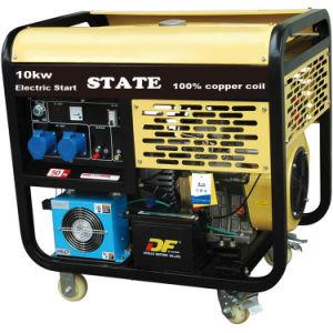 Profesional de 6kw grupo electrógeno diesel para uso doméstico