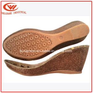 Talon sandales semelle en liège pour dames