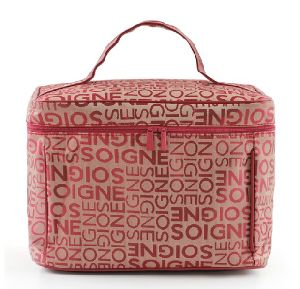 Lady lettres classique Design Fashion Polyester sac de lavage (YKY cosmétiques7511)