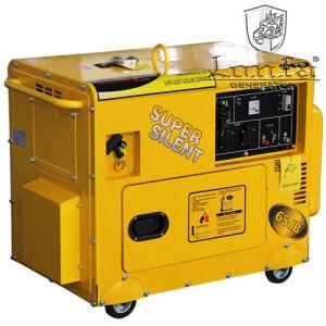 6kw de stille Generators van de Benzine van het Type van Kar Geluiddichte Elektrische (Ce, SONCAP)