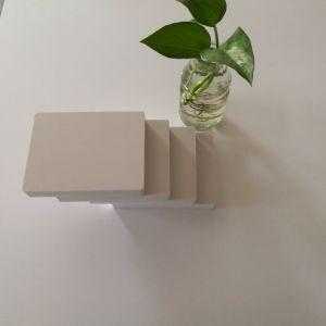 壁の装飾に使用する白いPVC泡のボード
