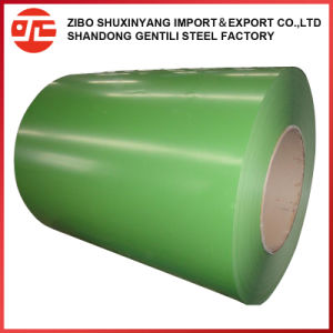 PPGI galvanisé recouvert de couleur imprimée GI GL Galvalume bobine d'acier