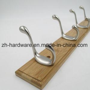 최신 판매 나무로 되는 아름다운 옷 훅 & 금속 널 훅 (ZH-7036)