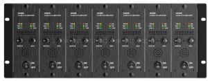 PA7400 7channel 400W/100V/Canal de salida de clase D de procesamiento DSP Amplificador Transformerless