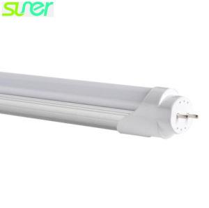Tubo LED T8 con base de aluminio y cubierta de PC 18W 1200mm 4000K blanco de la naturaleza 100lm/W
