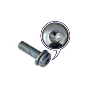 Acier inoxydable M6~M22 Cinquefoil vis à tête bombée pour électronique/les machines avec rondelle