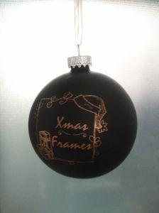 クリスマスのための装飾のガラス玉