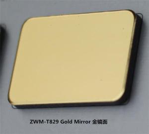 De spiegel is met klaar het Met een laag bedekken van Gebruik van het Comité van het Aluminium het Samengestelde voor de Decoratie van de Muur