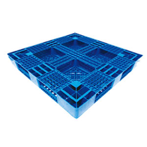 De HDPE Nestable leves com Anti-Moisture paletes plásticos no depósito