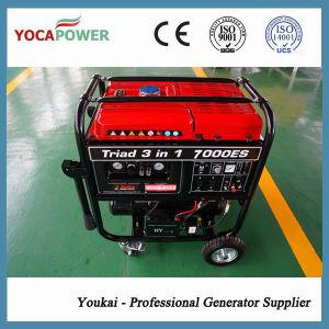 4KW único cilindro portátil gerador a Gasolina de partida elétrica