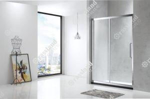 Hotel de inicio personalizada de acero inoxidable Baño Bañera Mampara corrediza de vidrio