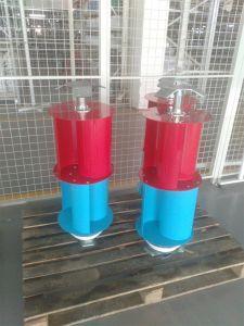 Système chaud de turbine de générateur/vent d'énergie éolienne de la vente 2kw 48V/turbines de vent verticales d'axe