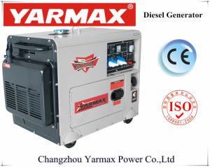 Yarmax Aprovado pela CE 4.8KW 5kvadiesel gerador para a estação de energia em casa ou fora de electricidade de rede
