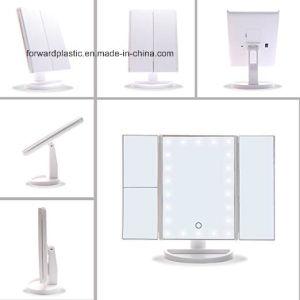BSCI、Wca、Sqp、ウォールマートの工場証明された、三重LEDの虚栄心ミラーまたは構成ミラー、22のLEDライト