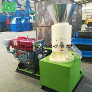 中国の小さい生物量の木製のおがくずのためのディーゼル運転された餌の出版物機械