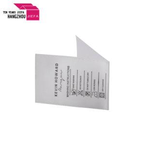 도매 100%년 폴리에스테 리본, 인쇄된 리본, 공단 리본 레이블