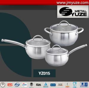 6 Предметов, Набор Посуды для Приготовления, Нержавеющая Сталь