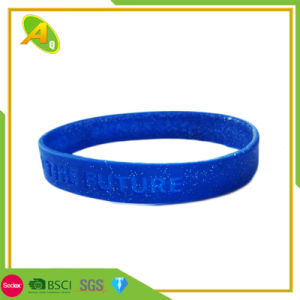 De ingestemde met Regelbare Armband van de Manchet van het Silicone USB als Decoratie (050)