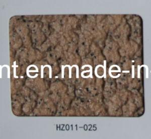Hualong ISO14001 ISO9001の水の後方破片の石のペンキ