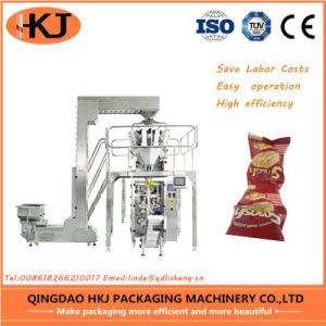 Pasta automático de la maquinaria de embalaje vertical con 10/14 Jefes Weigher