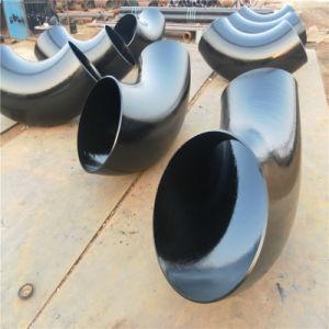 На заводе Bw API A234 Wpb трубный фитинг сварные/сварка углеродистой стали 45/90-градусное колено