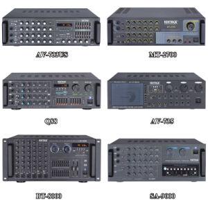 발광 다이오드 표시 (AV-2500)를 가진 25W 220V 힘 Karaoke 믹서 증폭기
