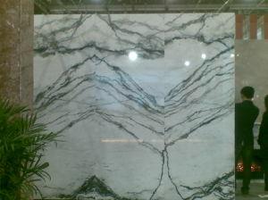 De Jade van de Orchidee van het nieuwe Product poetste Groene Marmeren Tegel op