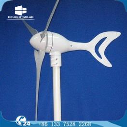 600W 12V/24V 영구 자석 3 잎 홈 임프루브먼트 바람 발전기