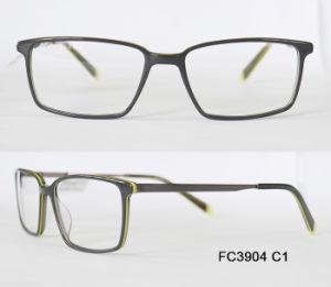 Het hete Verkopende Optische Frame Van uitstekende kwaliteit van het Metaal Acetate&