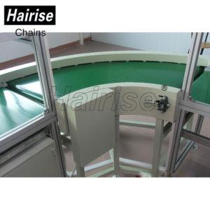 Sistema diritto del nastro trasportatore del commestibile di iso di Hairise PVC/PU